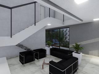 Cria Canto Arquitetura Living roomAccessories & decoration Grey