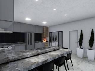Cria Canto Arquitetura KitchenBench tops