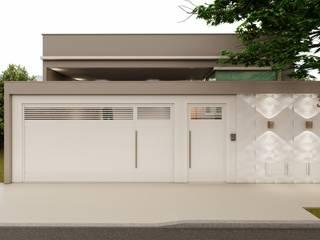 Cria Canto Arquitetura Rumah tinggal Amber/Gold