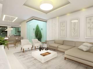 Cria Canto Arquitetura Ruang Keluarga Modern