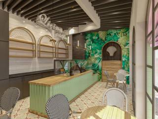LİÇİNA CAFE İç Mimar Murat KAÇAR - Ofiss Iç Mimarlık İç Dekorasyon Seramik Yeşil