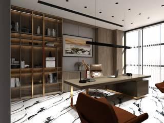 OFİS TASARIMI İç Mimar Murat KAÇAR - Ofiss Iç Mimarlık Ofis Alanları & Mağazalar Bakır/Bronz/Pirinç Altın Sarısı