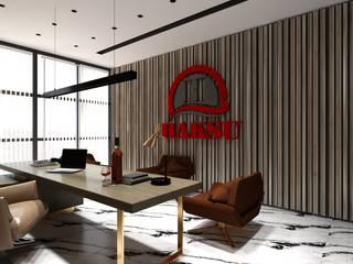 OFİS TASARIMI İç Mimar Murat KAÇAR - Ofiss Iç Mimarlık Ofis Alanları & Mağazalar Seramik Beyaz