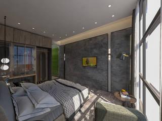 OTEL ODA İç Mimar Murat KAÇAR - Ofiss Iç Mimarlık Yatak OdasıAksesuarlar & Dekorasyon Ahşap Ahşap rengi