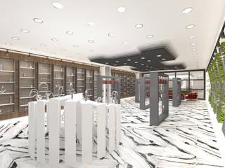 SHOWROOM İç Mimar Murat KAÇAR - Ofiss Iç Mimarlık Ofis Alanları & Mağazalar Ahşap Ahşap rengi