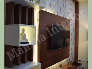 Mansha Interior Modern media room