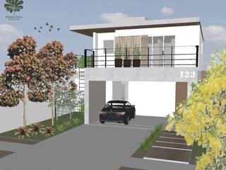 EMBAÚBA Projetos Terrace house