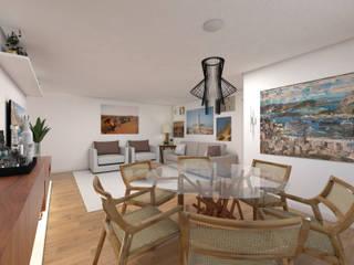 DCC by Next arquitetura Comedores de estilo moderno Madera