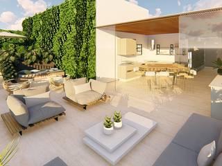 DCC by Next arquitetura Balcones y terrazas modernos