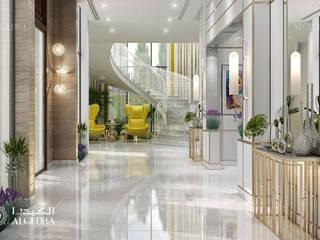 Algedra Interior Design Corredores, halls e escadas modernos