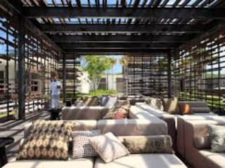 Projects KREYO Fabrics Balconies, verandas & terraces Furniture