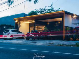 Lokatara Kahwa Cafe MR Arsitek Rumah Gaya Industrial
