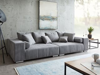 DELIFE Living roomSofas & armchairs Grey