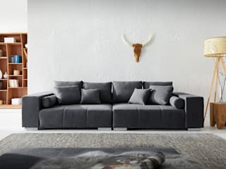 DELIFE Living roomSofas & armchairs Black