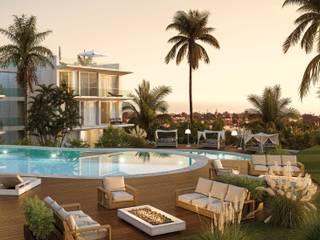 Aпартаменты с 3-мя спальнями в Алгарве c видом на море Amber Star Real Estate