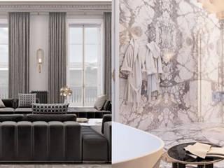 DelightFULL Salas de estar modernas