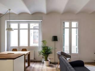 1 Kahane Architects Salones de estilo moderno