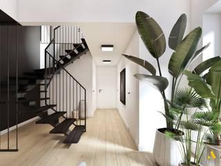 atoato Ingresso, Corridoio & Scale in stile eclettico