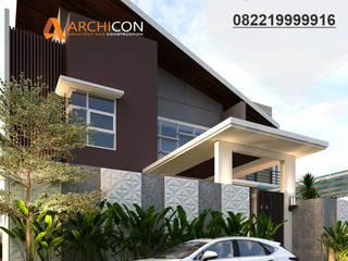 Jasa Arsitek Lamongan | Jasa Desain Interior Lamongan | Jasa Desain Rumah Lamongan | Jasa Desain Interior Lamongan | Kota Lamongan | Jasa kontraktor Lamongan Jasa Arsitek Archicon Architect Kamar Tidur Gaya Mediteran Beton Grey
