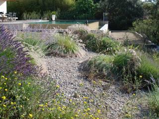 Un dénivelé au jardin, comment l'aménager? Jean-Jacques Derboux Jardin méditerranéen