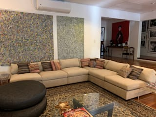 Bohemian Abode Geraldine Oliva Living room