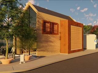 CONCEPTUAL ESTUDIO + ARQUITECTURA SAS Log cabin