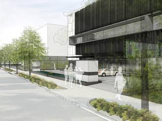 WAHA Office STUDIOGRA/PH ARCHITECTS Bangunan Kantor Modern