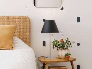 Tangerinas e Pêssegos - Design de Interiores & Decoração no Porto Eclectic style bedroom