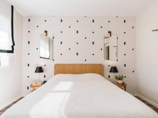 Tangerinas e Pêssegos - Design de Interiores & Decoração no Porto Eclectic style bedroom White