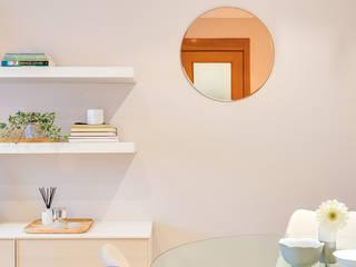 Tangerinas e Pêssegos - Design de Interiores & Decoração no Porto Scandinavian style dining room Pink