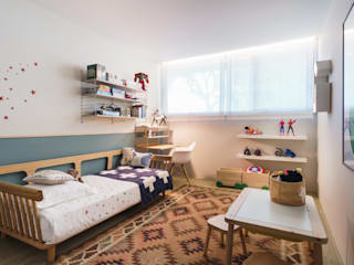 Tangerinas e Pêssegos - Design de Interiores & Decoração no Porto Boys Bedroom Wood Blue