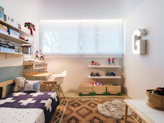 Tangerinas e Pêssegos - Design de Interiores & Decoração no Porto Boys Bedroom Wood Multicolored