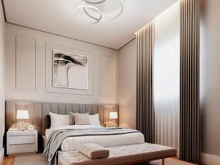 Giovanna Romero Arquitetura e Interiores Kamar Tidur Klasik