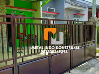 Metal Indo Konstruksi Single family home Aluminium/Zinc Black