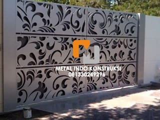 Metal Indo Konstruksi Single family home Aluminium/Zinc White