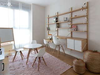 Decoración de Interiores. Habitación infantil en Valdebebas, Madrid POMO. Home Staging & Design Studio Habitaciones juveniles