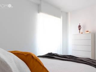 Home Staging. Piso familiar en Móstoles POMO. Home Staging & Design Studio Dormitorios de estilo minimalista