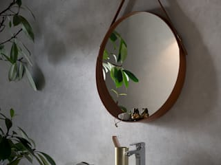 Limac Design BathroomMirrors Kulit Brown