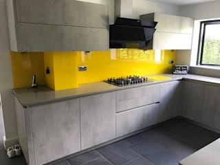Hayling's Kitchen Splashbacks Glass Structures Limited KitchenAccessories & textiles