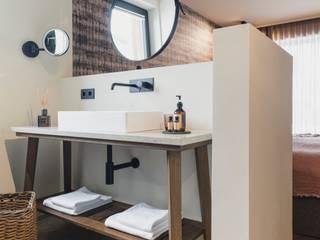 Limac Design Kamar Mandi Modern Kaca Brown