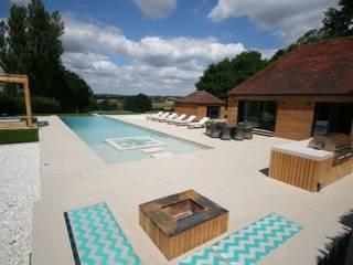 European and British Award Winning Outdoor Pool Tanby Pools Modern pool