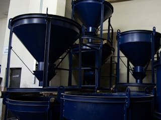 Bayrakcı Metal İnşaat Casas multifamiliares Hierro/Acero Azul