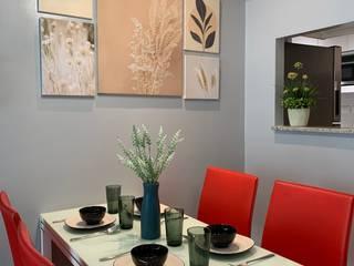 Splendidly Serene Geraldine Oliva Modern dining room