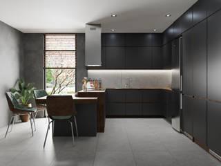 Domni.pl - Portal & Sklep Modern Kitchen Ceramic Grey