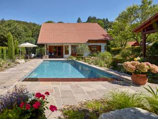 RENOLIT ALKORPLAN Schwimmbäder Kolam renang halaman Grey
