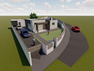 Screenproject Consulting Engineers Lda 一戸建て住宅