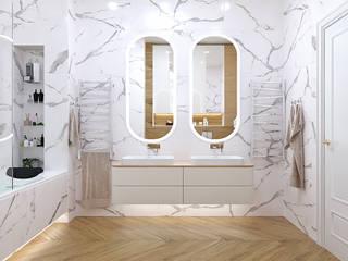 Студия дизайна ROMANIUK DESIGN Baños de estilo clásico