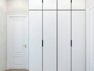Студия дизайна ROMANIUK DESIGN Vestidores de estilo clásico