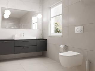 Domni.pl - Portal & Sklep Modern Bathroom Ceramic Beige