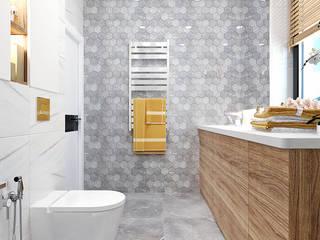 Студия дизайна ROMANIUK DESIGN Baños de estilo industrial